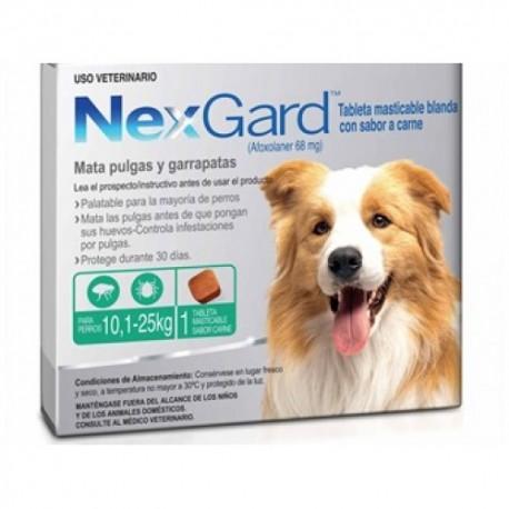 nexgard 101 a 25 kg