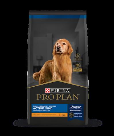 purina pro plan flagship perros active mind razas medianas y grandes