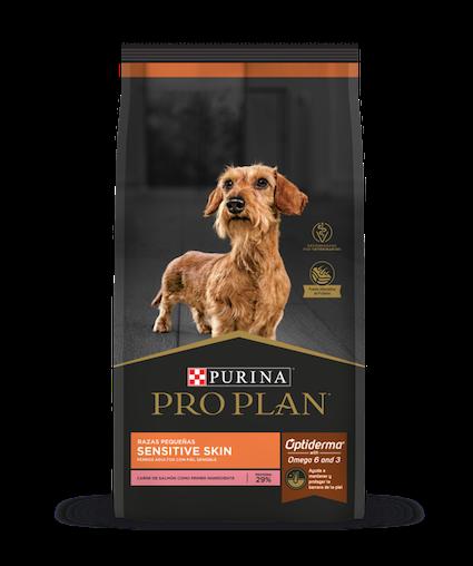 purina pro plan flagship perros sensitive skin razas pequenas