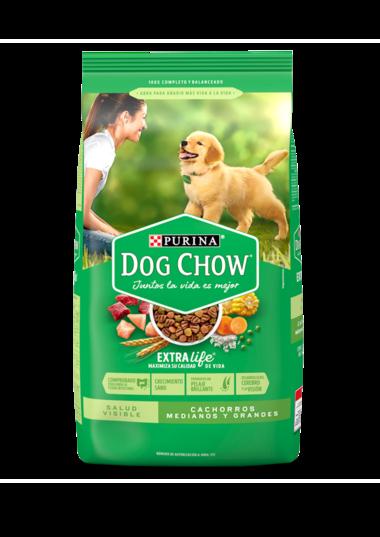 Dog Chow Maximus Dry Salud Visible Cachorros Medianos y Grandes