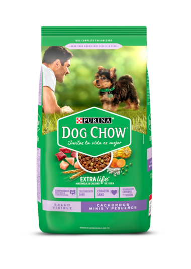 Dog Chow Maximus Dry Salud Visible Cachorros Minis y Pequenos